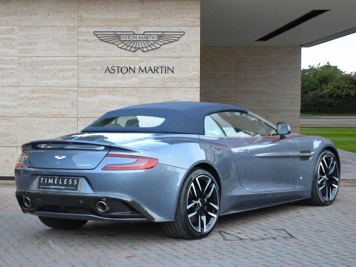 One Off Aston Martin Vanquish Volante Am37 Edition By Q Can Be Yours
