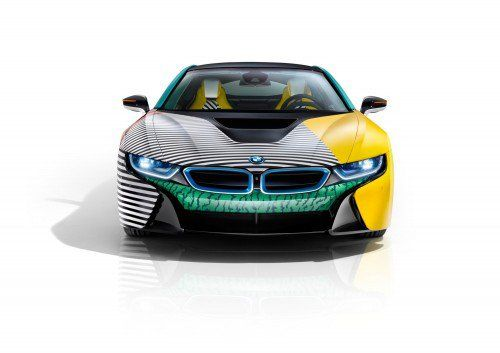Garage Italia Customs unveil hypnotic-looking BMW i3 and i8 MemphisStyle Editions