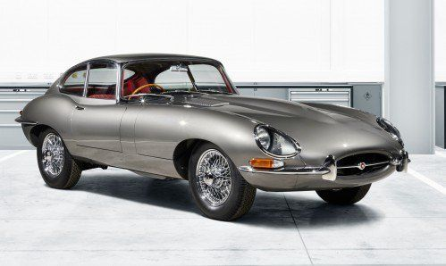 """Here's Jaguar's first E-type """"Reborn,"""" one of 10 factory-restored Series 1 E-types"""