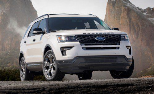 Ford buys some time with lightly-updated 2018 Explorer