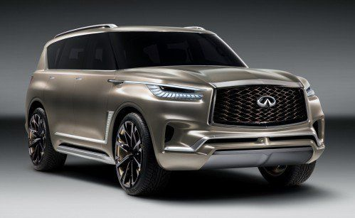 "Infiniti promises ""huge unveil"" for NY Auto Show, the QX80 Monograph"