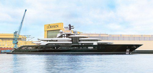 Lürssen unveils Project Thunder superyacht