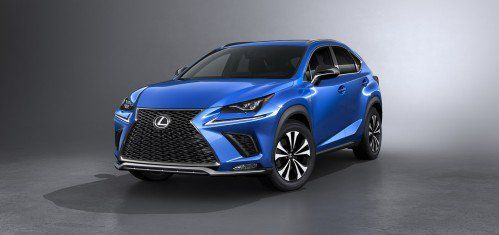 Lexus NX lightly nipped and tucked for Auto Shanghai 2017