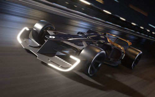 1,341-hp R.S. 2027 Vision is how Renault sees the F1 car of the future