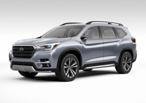 All-New production SUV previewed by Subaru Ascent Concept