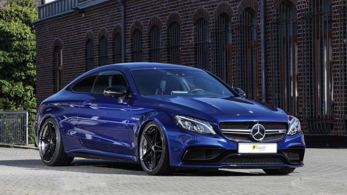 Schmidt Adds Pepper To The Mercedes Amg C63 Coupe Mix