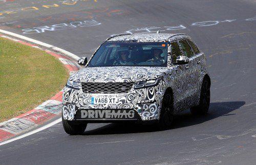 Range Rover Velar SVR puts its V8 powertrain to good use on the Nürburgring