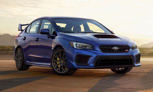 Subaru releases U.S. pricing for 2018 WRX and 2018 WRX STI