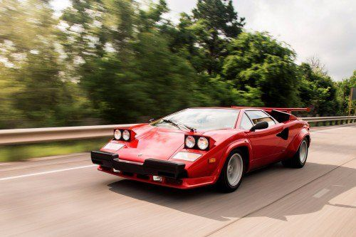 This used Lamborghini Countach 5000 QV is right on so many levels