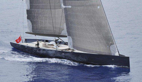 Take a look at this stunning sail yacht named Angel's Share