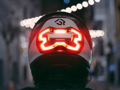 BrakeFree Ultra-Visible LED light. Bright Idea!