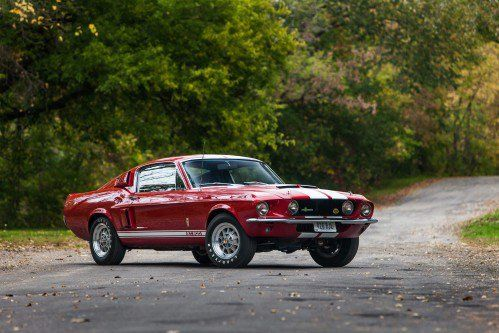 Police interceptor V8-powered 1967 Shelby GT500 Mustang is a must-have