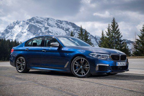 New photos of 2017 BMW M550i xDrive will make you fantasize about the next M5