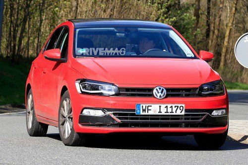 Thinly-disguised next-gen 2018 VW Polo reveals very predictable styling