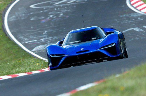 NIO EP9 silently becomes world's quickest production car on the Nürburgring