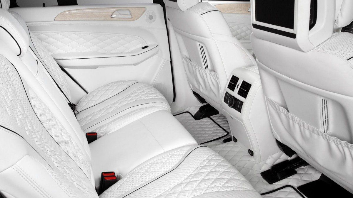 This All White Mercedes Gle Interior Can T Even Be Killed With Fire