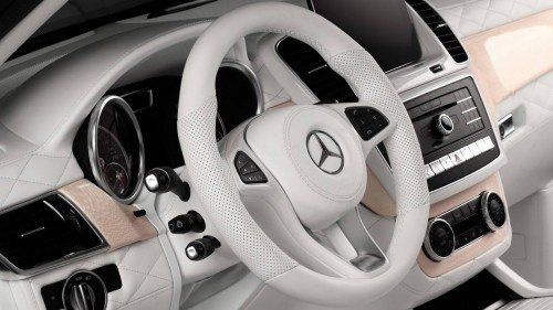 This all-white Mercedes GLE interior can't even be killed with fire