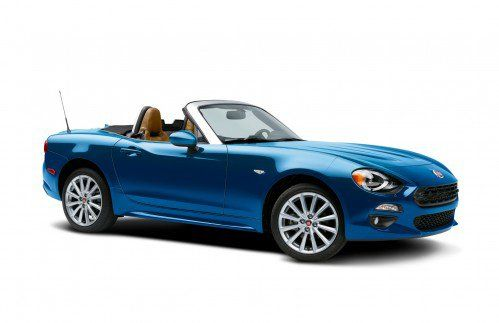 The very first 2017 Fiat 124 Spider Prima Edizione Lusso sold for $31,500
