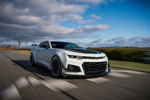 2018 Chevrolet Camaro ZL1 1LE gains self-explanatory Extreme Track Performance pack
