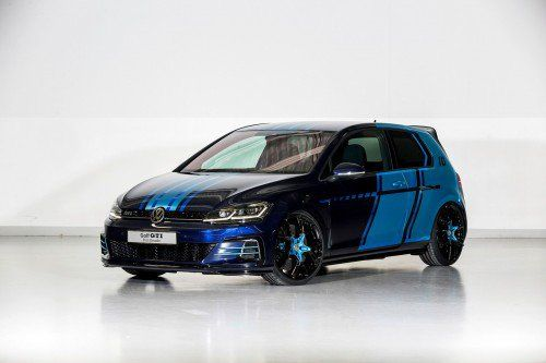 VW Golf GTI First Decade debuts in Wörthersee with electrically-driven rear axle