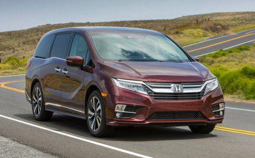 Honda announces 2018 Odyssey pricing, is out to dominate U.S. minivan market again