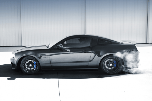 Vaughn Gittin Jr's 2010 Ford Mustang RTR-C is waiting for your money