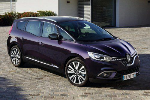 Renault Scenic and Grand Scenic get the Initiale Paris treatment