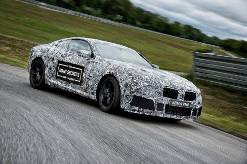 This is what 2018 BMW M8 sounds like