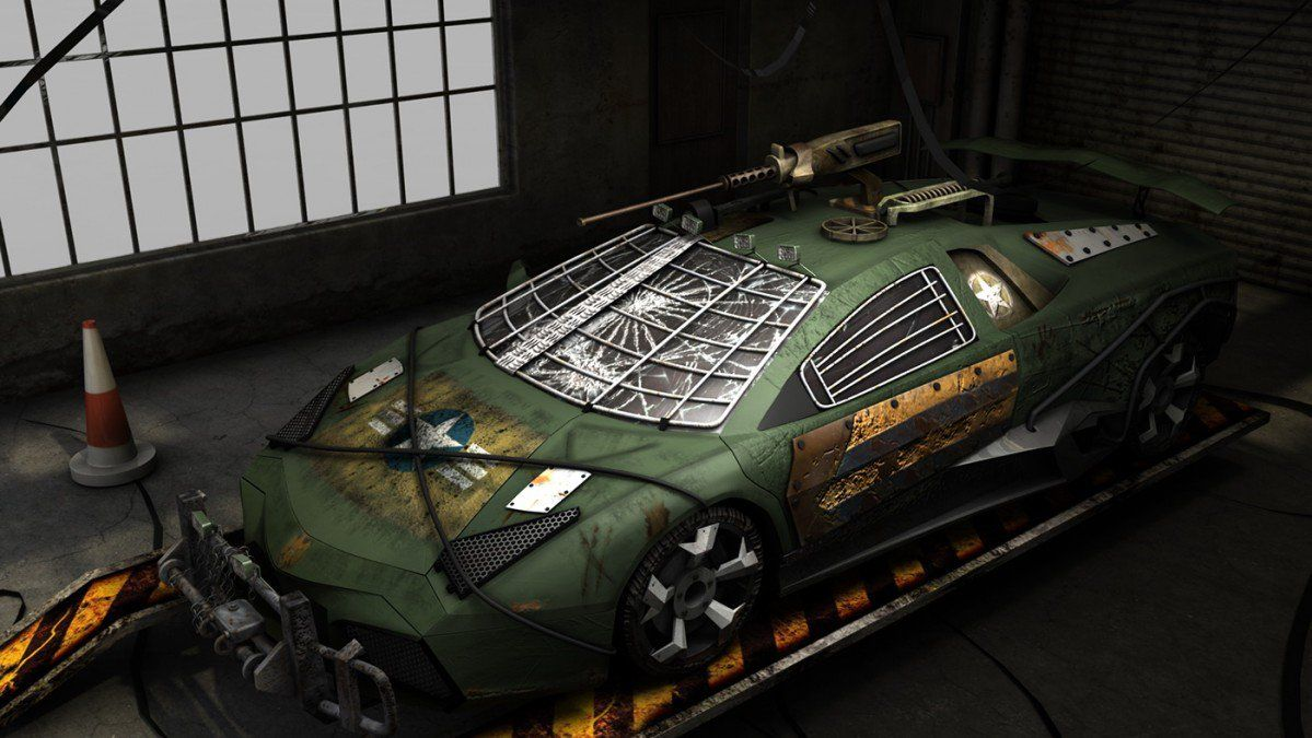 Lamborghini Reventón joins the apocalypse,ready party