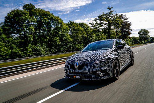 2018 Renault Mégane R.S. sort of debuts in Monaco