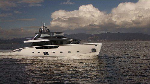 Sanlorenzo SX88 crossover yacht unveiled