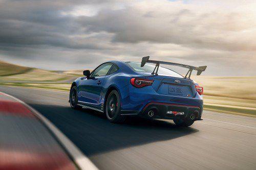 2018 Subaru BRZ tS unveiled with aero and suspension upgrades