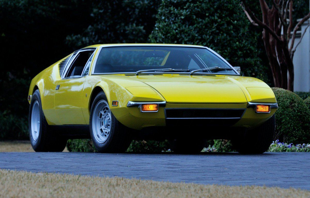 Six Beautiful Italian Sports Cars That Packed American V8