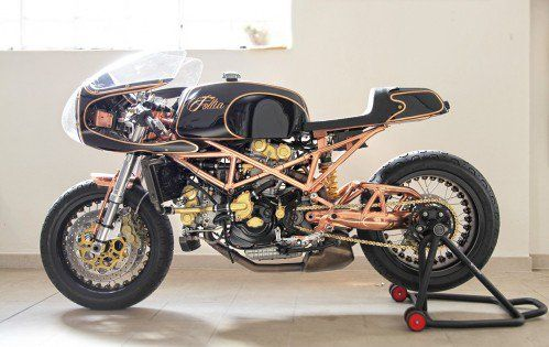 Ducati Monster S4 - Italian Copper