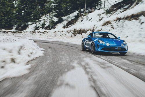 Alpine A110 to make rolling debut at Goodwood FoS, hear it roar on the track