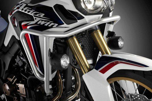 Africa Twin crash bar install -  Video Tutorial