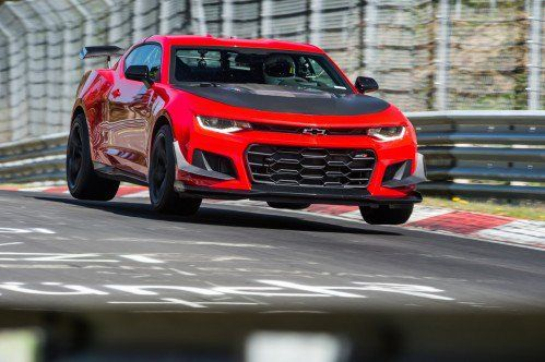 2018 Chevrolet Camaro ZL1 1LE becomes fastest Camaro ever on the Nürburgring