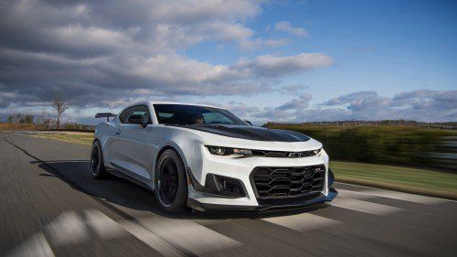 Chevy prepares the Camaro ZL1 1LE for a Nürburgring run