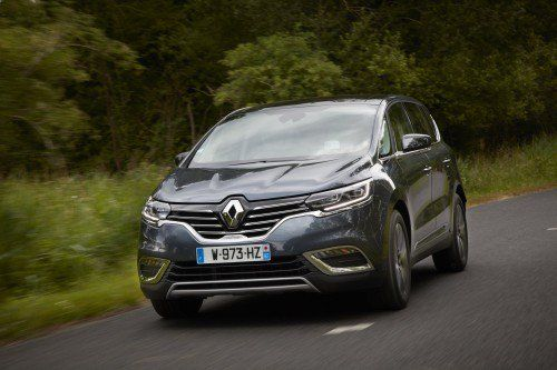 Renault Espace gets Alpine's 1.8L turbo engine, Executive version for 2017 model year