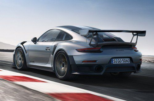 2018 Porsche 911 GT2 RS officially unveiled as the absolute 911