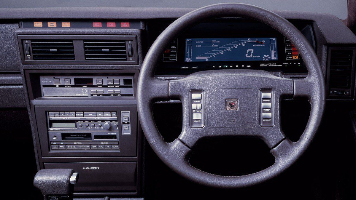 The definitive collection of cool 1980s digital dashboards ...