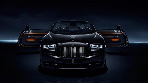 Dawn Black Badge joins Rolls-Royce's noire collection