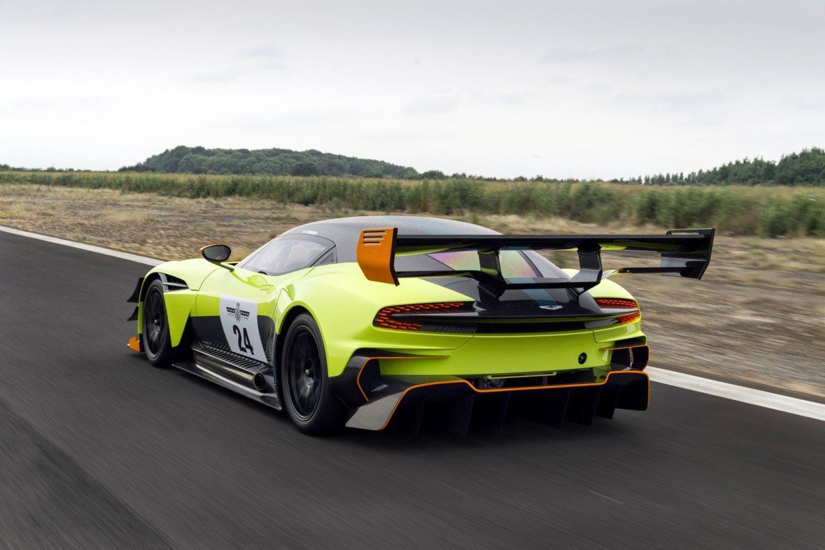 Watch The Beastly Aston Martin Vulcan Amr Pro Abuse The