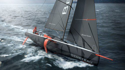 Beneteau Figaro 3 is a new foil-assisted sail yacht