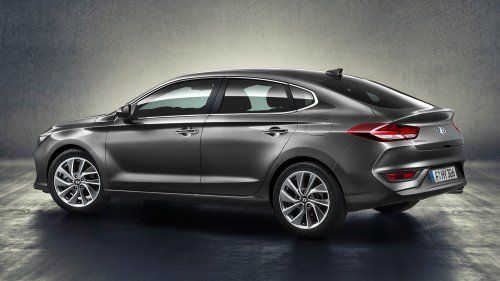 2018 Hyundai i30 Fastback adds new body style to the automaker's compact family