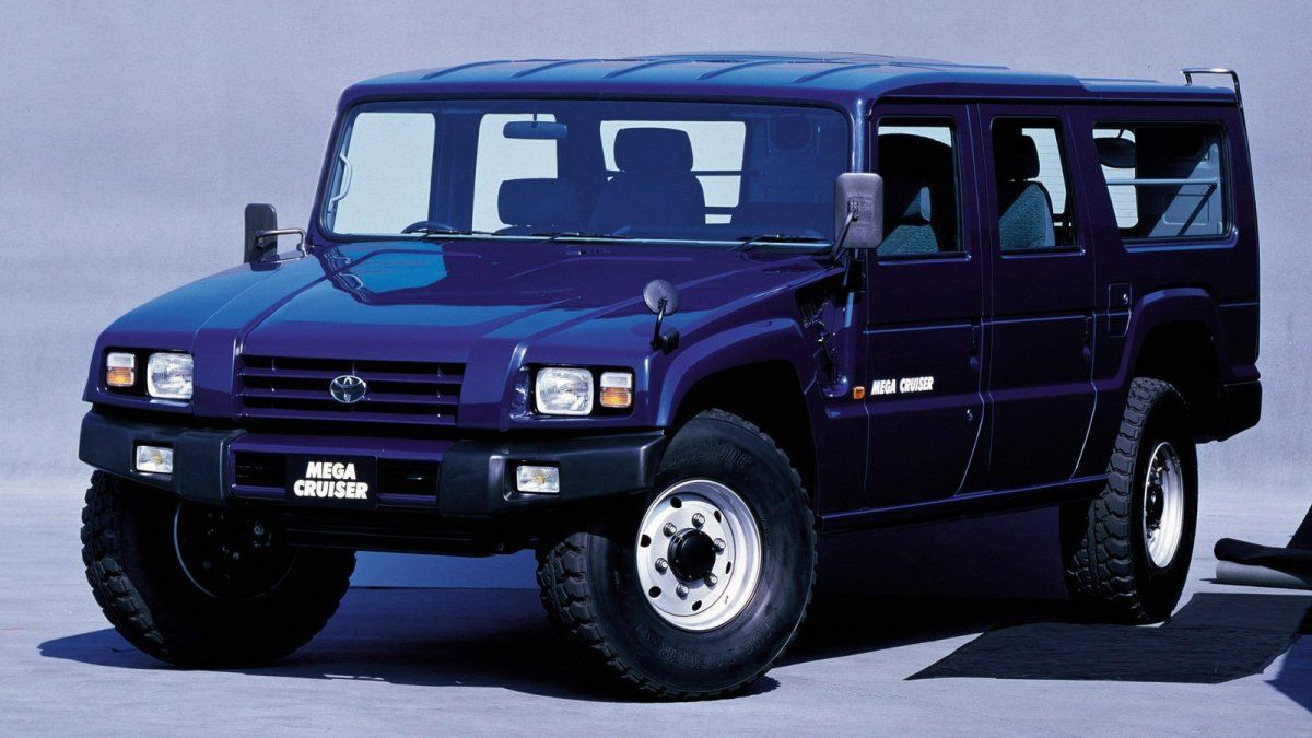 Japan Wanted Its Own Hummer So Toyota Built The Mega Cruiser
