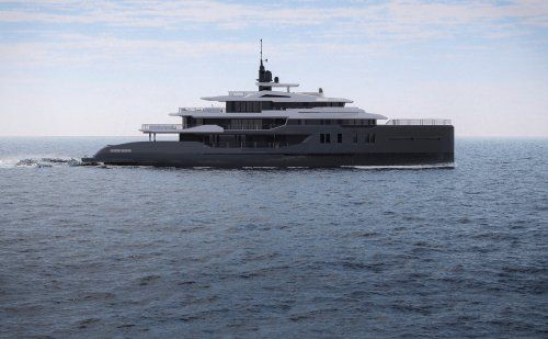 CCN's Explorer Yacht M/Y Day's in build