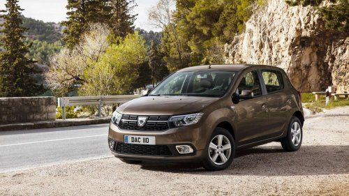 Dacia Sandero and Logan MCV Lauréate earn the 1.0-liter SCe engine in the UK