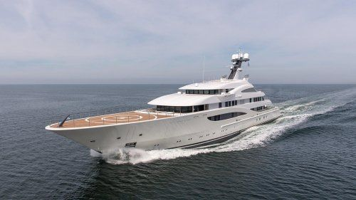 Lurssen delivers superyacht Areti