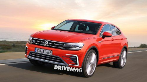 If VW makes a Tiguan Coupe, it will look like this